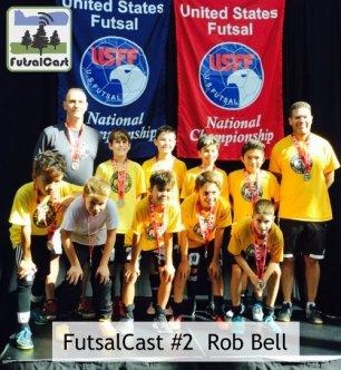 FutsalCast Rob Bell Bulldogs Futsal Club Ballistic United